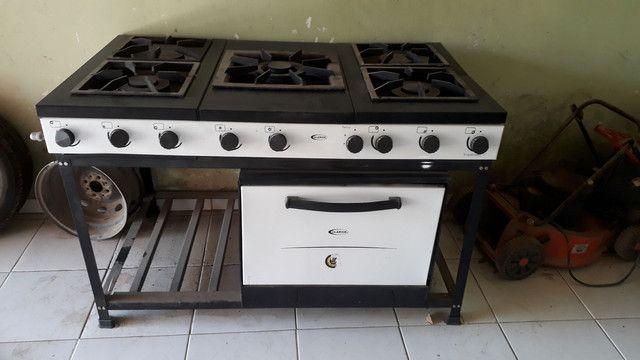 Vendo fogão Clarice industrial  - Foto 4