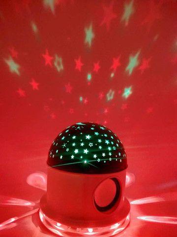 Luminária Abajur céu estrelado - Foto 2