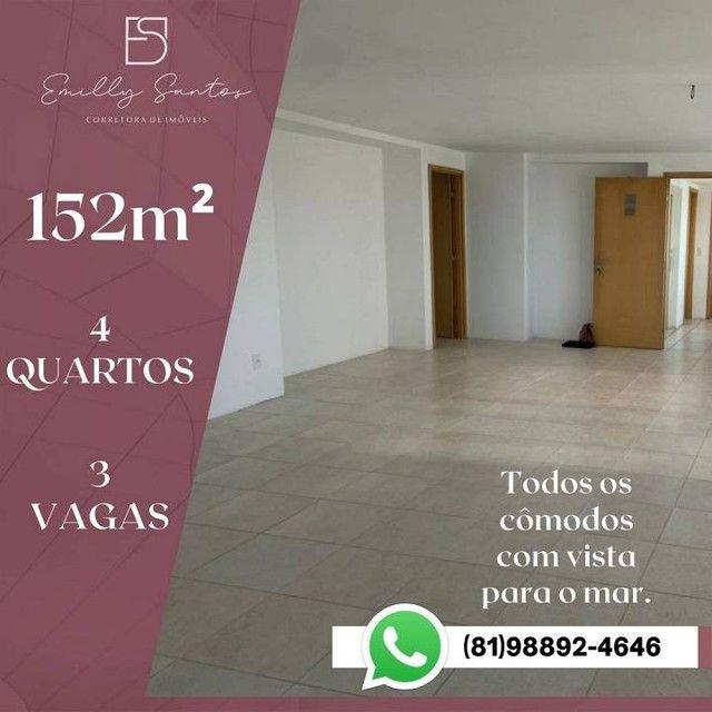 Apartamento para venda com 152 metros quadrados com 4 quartos em Pina - Recife - PE - Foto 6