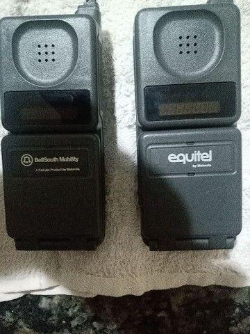 Relíquia ... Primeiro celular que existiu  no Brasil (tijolão) + Maq. Fotografica - Foto 6