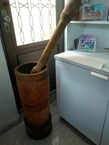 Pilão de madeira. - Foto 4