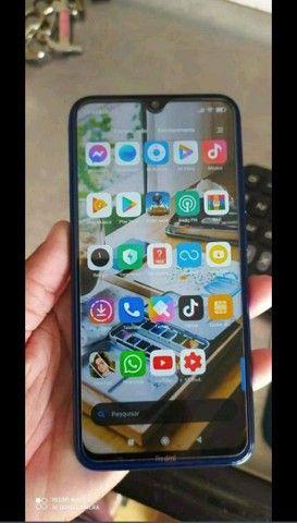 Smartphone Xiaomi Redmi Note 8 4RAM 128GB Tela 6.3 LTE Dual Azul - Foto 4