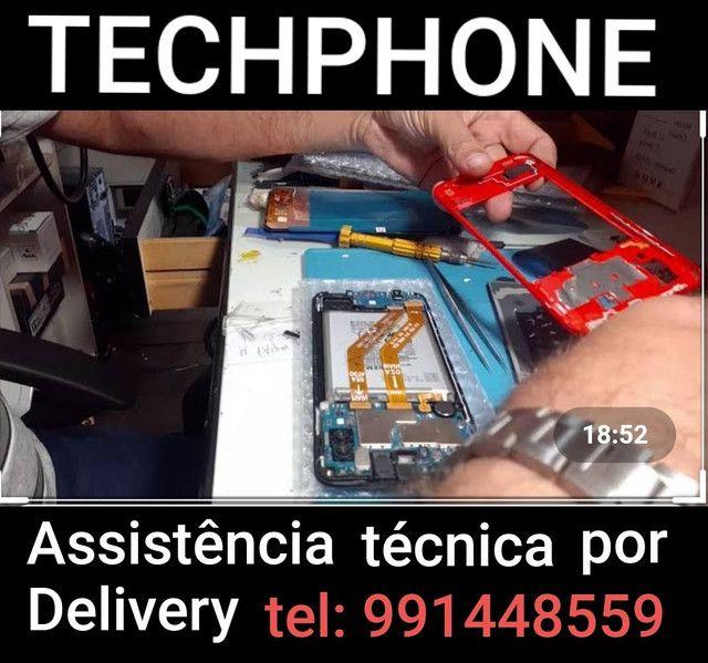 Assistência técnica por delivery