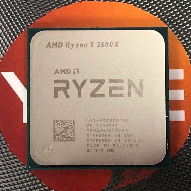 Processador AMD Ryzen 5 3500x - 3.6ghz novo OEM