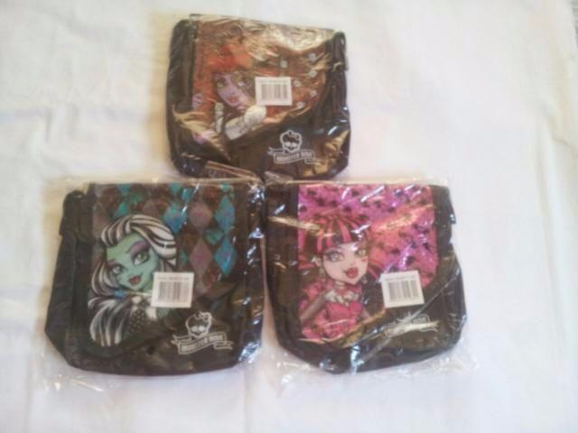 Linda bolsas infantil Monster high