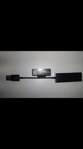 Cabo Adaptador de rede USB/RJ 45 Dell(novo)