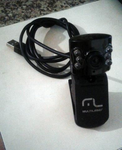 WebCam Multilaser USB C/ Microfone 5MP