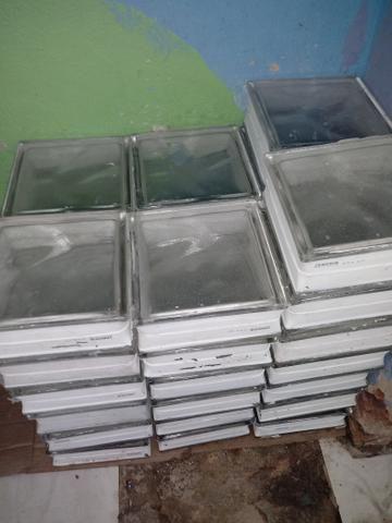 Bloco ou tijolo de vidro usado 380reais