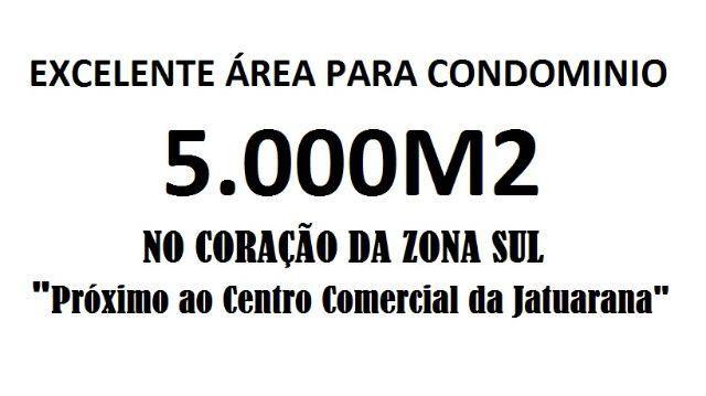 Para Condomínio Areá 5000 m2 zona sul