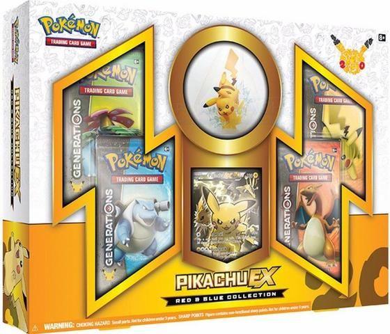 Box Pokémon Pikachu EX