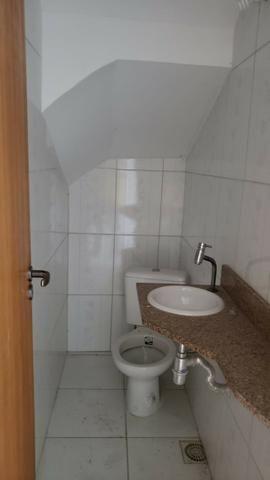 Casa miuto bem localizada duplex 1a locaçao 2 qts com varandas quintal 2 vgs - Foto 5