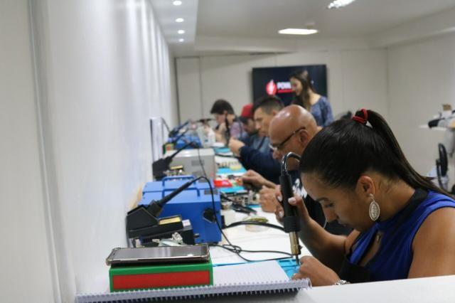 Curso em manutenção de celulares e tablets