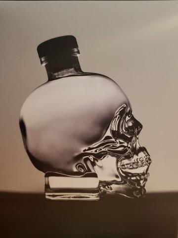 Vodka crystal head 750ml - Garrafa de caveira!!