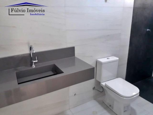 Casa Moderna! 03 suítes com closet e área de lazer completa. Vicente Pires! - Foto 8