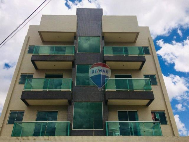 Apartamento com 3 dormitórios à venda - jardim candeias - vitória da conquista/ba