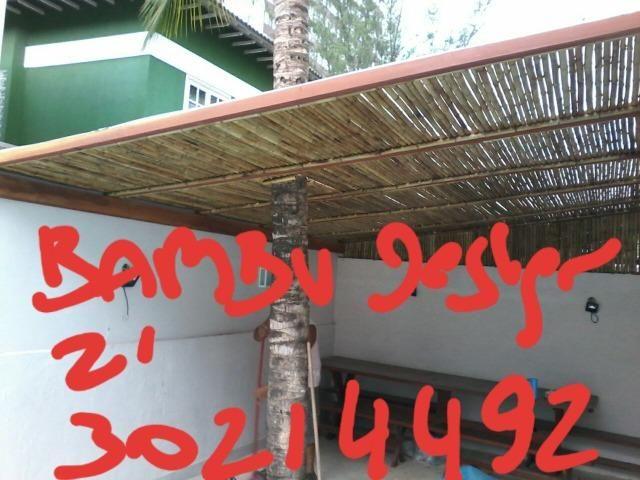 Bambu tratado buzios  angra reis - Foto 2