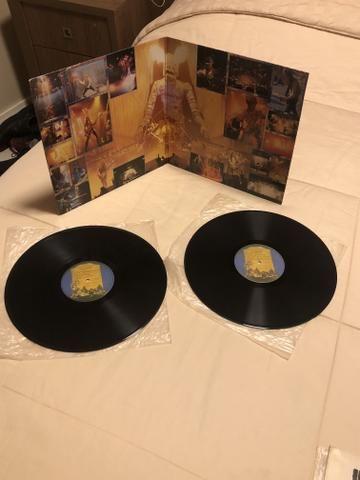 4 álbuns Iron Maiden excelente estado incluindo LIVE AT DONINGTON - Foto 4