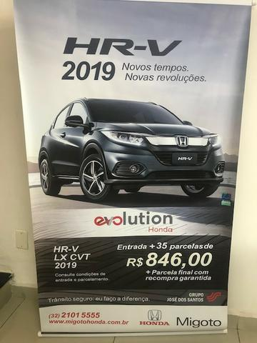 Honda Hr-v lx no plano evolution honda !! - Foto 3