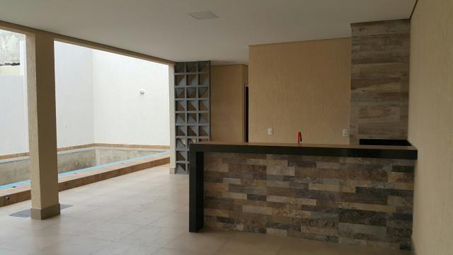 Casa nova 3quartos 3suites piscina churrasqueira rua 06 Vicente Pires condomínio - Foto 5