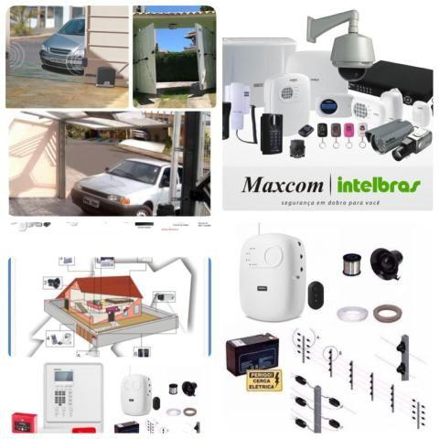 Venda,Instalação e manutenção de equipamentos de segurança eletrônica