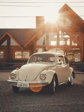 Fusca 1974 Fusca 1300 VW Bege - Foto 6
