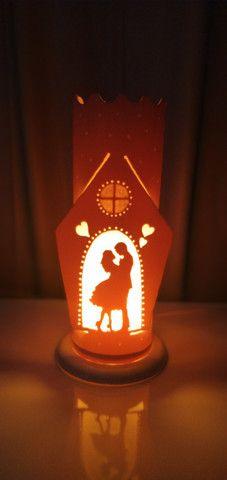 Luminaria personalizadas.abajur - Foto 5