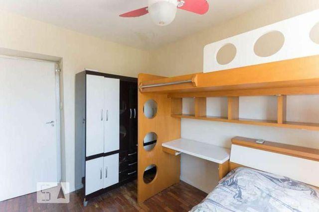 Metrô na porta - Lindo ap 2 quartos (reversível p/ 3),dependência c/ banheiro, reformado - Foto 8