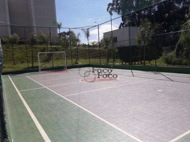 Apartamento com 2 dormitórios para alugar, 45 m² por R$ 650/mês - Água Chata - Guarulhos/S - Foto 16