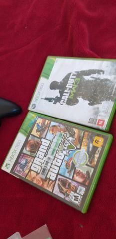 Xbox 360 desbloqueado (TROCO) - Foto 3