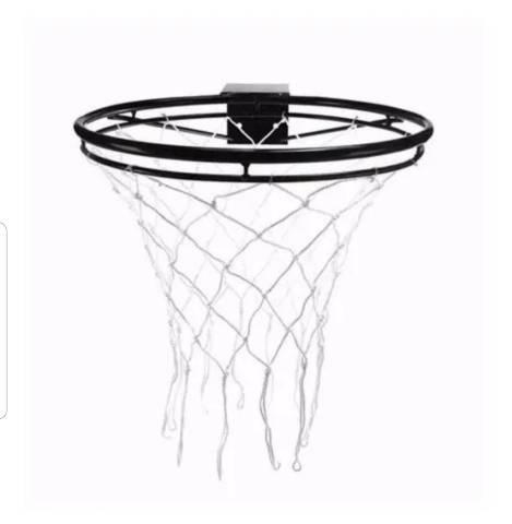 Aro de basquete NOVO profissional adulto reforçado com rede  - Foto 3
