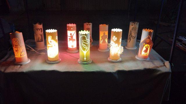 Luminaria personalizadas.abajur - Foto 6