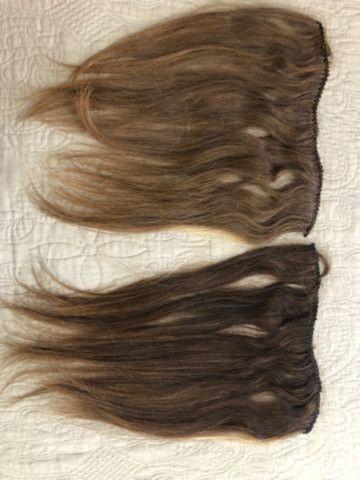 Vendo duas telas de mega hair 43 cm 390 - Foto 3