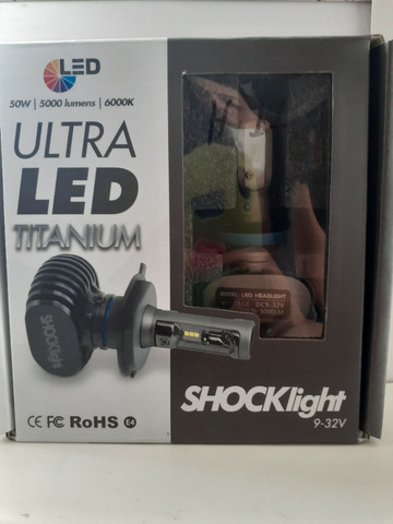 Led ultra led shock Light h3 garantia 01 instalado