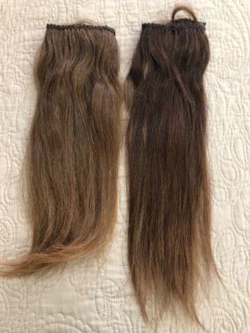 Vendo duas telas de mega hair 43 cm 390