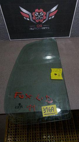 Vidro fixo da porta fox TD #3169