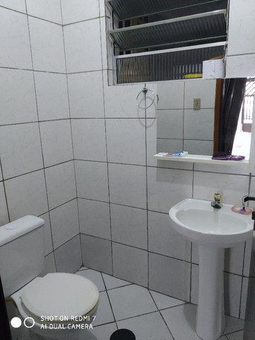 Sobrado centro de São Vicente 03 dormitórios Ac. troca por apartamento na Praia - Foto 7