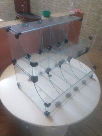 Vitrine Baleiro de vidro
