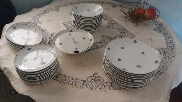 Jogo jantar porcelana Schmidt - Foto 4