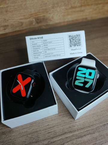 Smartwatch Iwo W26 Tipo Apple Watch - Foto 3