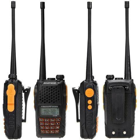 Rádio Ht Uv-6r Comunicador Baofeng Dual Band Uhf + Vhf 7w - Foto 2