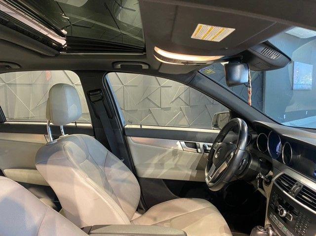 Mercedes-Benz C250 CGI SPORT 1.8 16V TB Automático 2013/2013 configuração Linda  - Foto 11