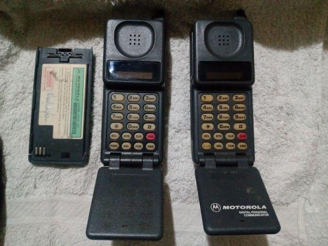 Relíquia ... Primeiro celular que existiu  no Brasil (tijolão) + Maq. Fotografica - Foto 4