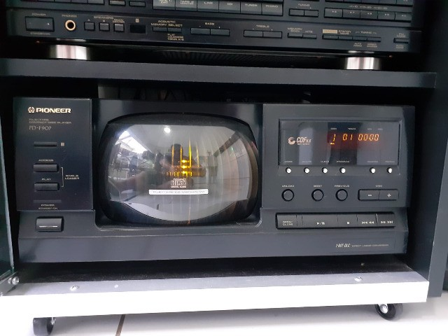 Som Pioneer (Receiver, Equalizador, CD Changer, Tape Deck, Rack) - Foto 4
