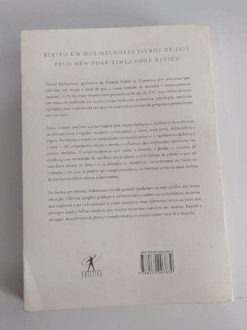Livro Rápido e Devagar: Duas Formas de Pensar - Foto 2