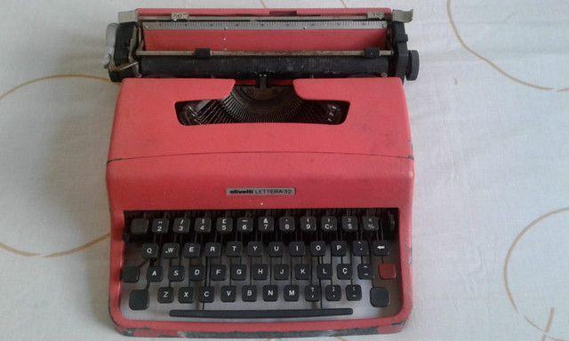 Maquina escrever olivetti - Foto 2