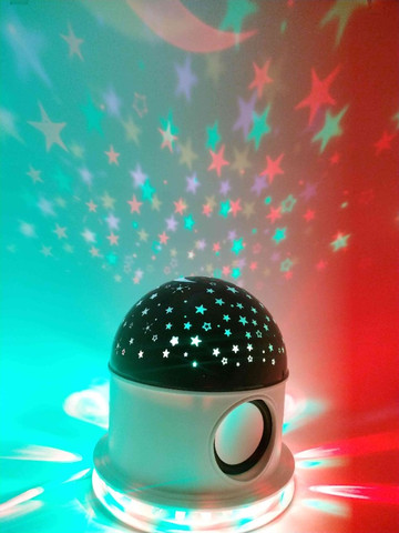 Luminária Abajur céu estrelado - Foto 3