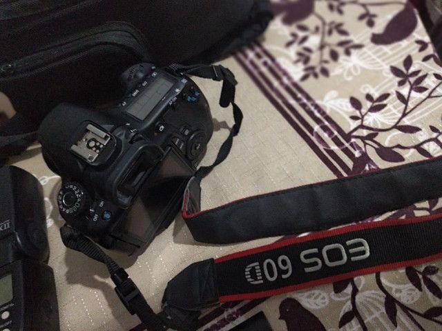 Máquina digital Canon EOS 60D e acessórios - Foto 3
