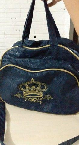 Bolsa azul de bebê  - Foto 3