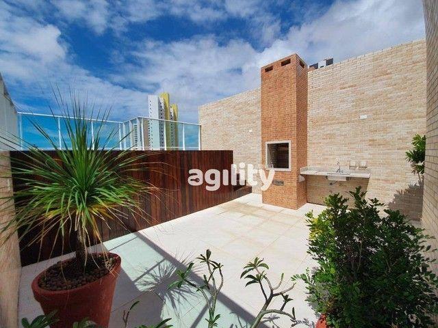 Cobertura com 4 dormitórios à venda, 160 m² por R$ 755.000,00 - Capim Macio - Natal/RN - Foto 16