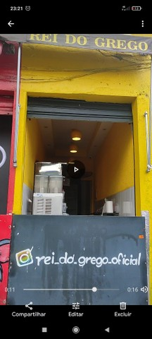 Alugo churrasco grego completo e só chega pagar 3 meses de depósito e trabalhar - Foto 2